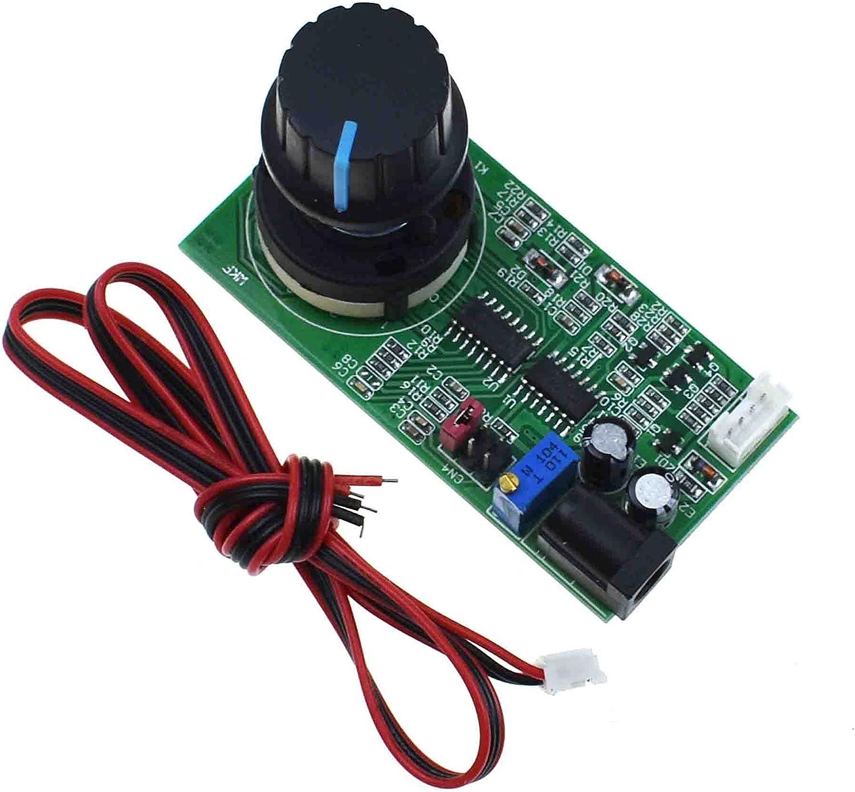 Reland Sun DC 5-12V 1Hz-100KHz PWM Generador de señal de frecuencia Fuente Pulser Pulser Generador de onda cuadrada