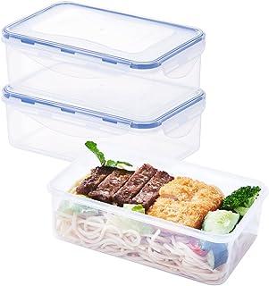 10 Pack Lunch Bento Box 2 Compartiments Plastique Repas Prep Contenants De Nourriture Couvercles Kids Articles de cuisine et d'art de la table