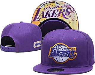 Basketball Embroidered Snapback Sports Hat Fashion Cap for Mens Women Teens Child Los Angeles Lakers(13)
