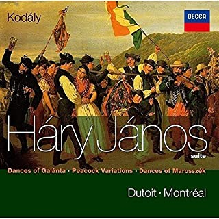 Kodaly: Hary Janos Suite / Dances Of