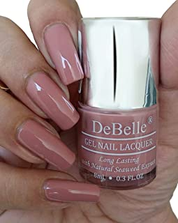 DeBelle Gel Nail Polish Rose Aurelia (Pink Mauve Nail Polish) - 8ml