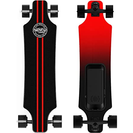 teamgee Electric Skateboard Longboards Skateboard with Wireless Remote Control