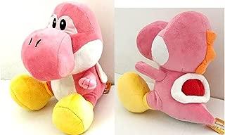 Yoshi Plush Doll Pink Large 13