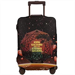 Nanmma Cute 3D Galaxy Pattern Luggage Protector Travel Luggage Cover Trolley Case Protective Cover Fits 18-32 Inch