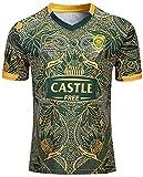 XYY Équipe Afrique du Sud, CRB Sport, Springboks, 7s, Rugby Shirt, Nouveau tissé et brodé, Swag Sport (Size : 3XL)