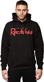 OG Reckless Hoodie Mens Tops Black, X-Large