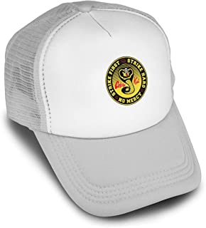 93422f65 MyLoveYF Men and Women's Cobra-Kai Karate Trucker Hats Summer Mesh Cap with  Adjustable Snapback