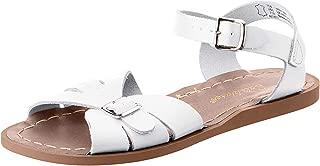 Salt Water Sandals by Hoy Shoe Girls' Salt Water Classic Flat Sandal White 4 W6 M US Big Kid