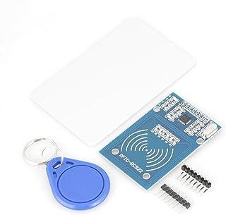 RC522 RFID - Tarjeta RF IC con Sensor Inductivo + S50 Tarjeta Inteligente blanca + llavero para Raspberry Pieza