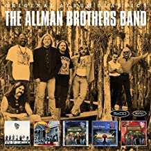 the allman brothers band 5 classic albums