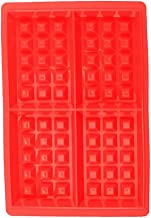 Baoblaze 4 Waffles Silicone Mould Muffin Pans Baking Cake Tray Waffles Kitchen Bakeware Tools