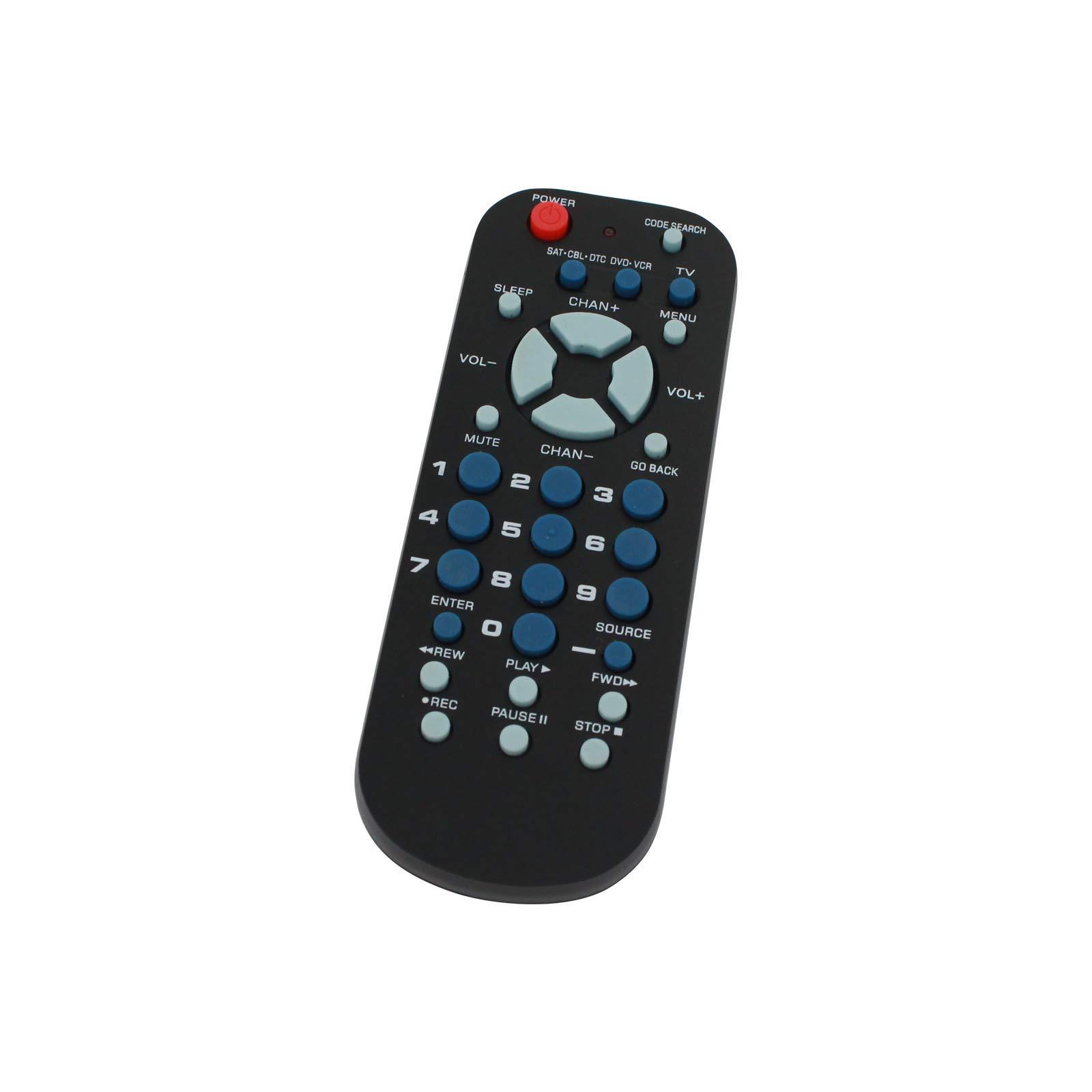 Repuesto para Mando a Distancia Universal de 3 Dispositivos RCA, Compatible con KLH TV, código Remoto 0765: Amazon.es: Electrónica