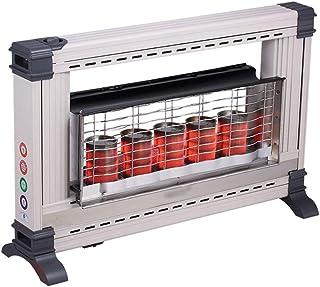 Estufa de Gas Infrarroja Comercial, Calefactor de GLP o Gas Natural, Calefacción de hogar u Oficina, con protección contra vuelcos