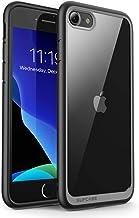 SUPCASE Unicorn Beetle Style Case Designed for iPhone SE 2nd generation/iPhone 7/iPhone 8, Premium Hybrid Protective Clear Bumper Case (Black)