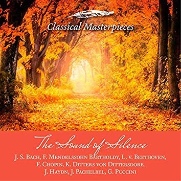 The Sound of Silence -J. S. Bach,F. Mendelssohn Barholdy, L. v. Beethoven, f. Chopin, K. Ditters von Dittersdorf,J. Haydn, J. Pachelbel,G. Puccini (Classical Masterpieces)