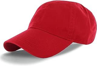 DS DealStock Plain 100% Cotton Hat Men Women Adjustable Baseball Cap (30+ Colors)