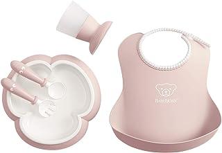 BABYBJORN 婴儿餐具套装 粉红色