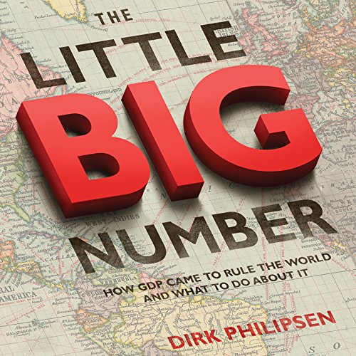 The Little Big Number audiobook cover art