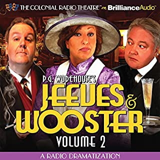 Jeeves and Wooster, Vol. 2 audiobook cover art