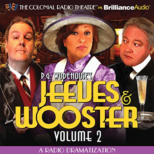 Jeeves and Wooster, Vol. 2 cover art