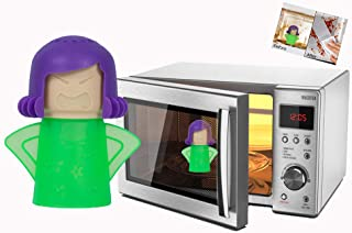 Panding Angry Mama Steaming Cleaning clean mama Microwave Cleaner Steam Oven Mom and Chilly Mama Fridge and Freezer Odor A...