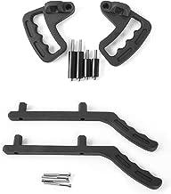 RT-TCZ Grab Handles Grip Handle Grab bar for 2007-2018 Jeep Wrangler JK Sahara Sport Rubicon X & Unlimited (Front&Rear)