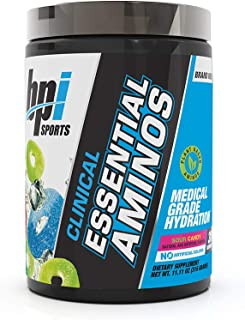 BPI Sports Clinical Essential Aminos – Keto Friendly – Essential Amino Acids (EAAs) – Recovery, Muscle Growth, Hydration –...