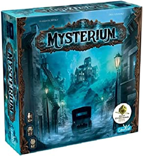 Libellud MYST01ASM LIBMYST01US Mysterium – Board Game English Edition/enkelstyck/flerfärgad
