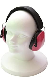 (SCGEHA) キッズ イヤーマフ こども 防音 遮音 騒音 耳栓 プロテクター (ピンク)