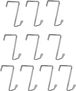 Misslo 10 Packs Over The Door Metal Hook