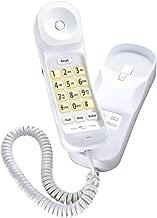 Uniden CEZ202 Modern Big Button Design Slimline Corded Phone (Ivory)