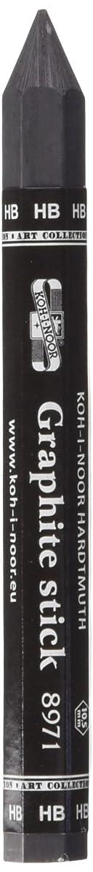 Koh-I-Noor : Jumbo Woodless Graphite Pencil 8971 : 10.5mm Diameter : HB