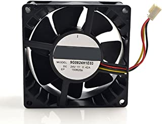MEOLY Meglev Cooling Fan Cooling Fan 8414 N//2H DC Brushless Fan 24V 2.4W 3 Wire Connector Graphics Card Fan 808025mm