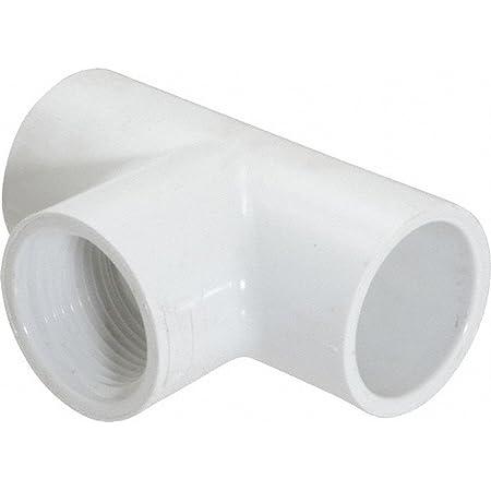 "Sch40 Reducing Tee 1//2/"" Slip x 1//2/"" Slip x 1//8/"" FPT 5 PVC Tee Made in USA"