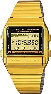[カシオ]CASIO カシオ DATA BANK データバンク DB-380G-1 ゴールド 腕時計[逆輸入モデル]