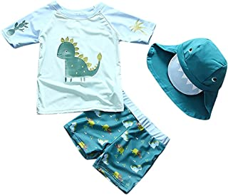 Baby Toddler Boys Two Pieces Swimsuit Set Swimwear...