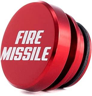 Kei Project Billet Aluminum Cigarette lighter plug delete Universal fitment Fits most (Fire Missile)