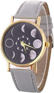 ساعة حائط، هدية متجمدة تيتانيوم خاتم إصبع للجنسين للنساء الرجال إصبع خاتم مجوهرات كلاسيكية رائعة، اللون: أخضر (اللون: رمادي)