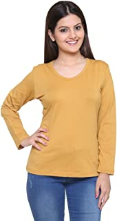 Colors & Blends - Women's Cotton-Lycra - Full-Sleeves T-Shirt
