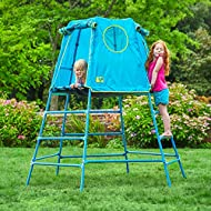 TP Toys 850 Explorer Metal Climbing Frame, Blue