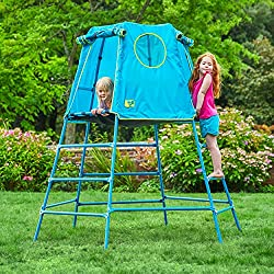 TP Toys Explorer metal climbing frame extends and grows along with your child Compact to fit in most gardens, the TP Toys Explorer frame can be built at either low height for younger children or at full height for older children The TP Toys Explorer ...