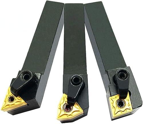 "new arrival 3PCS 5/8"" online Left Cutting CNC Lathe Carbide Excircle Indexable Turning Tool Holder sale Bit Set MTJNL1616H16 + MWLNL1616H08 + MCLNL1616H12 With 3pcs wnmg431, cnmg431, tnmg331 Indexable Carbide Inserts outlet sale"