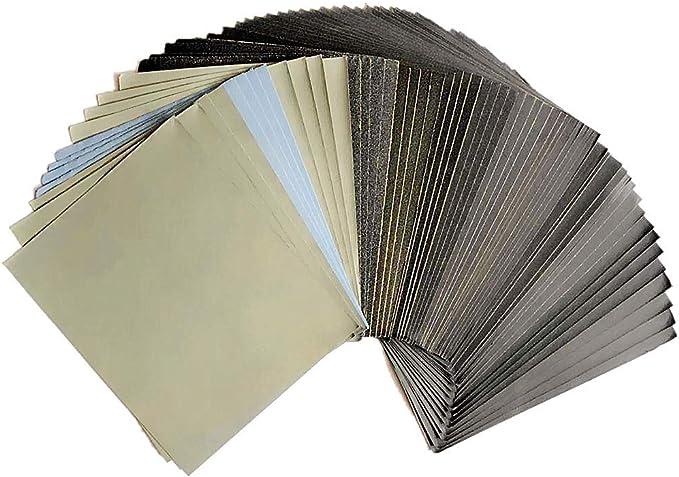 68 opinioni per FEIHU Carta abrasiva240-3000/5000/8000/10000 Carta abrasiva 115X140MM,