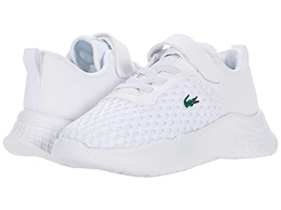 Lacoste Kids Court-Drive 0120 1 SUI (Toddler/Little Kid) (White/Black) Kid