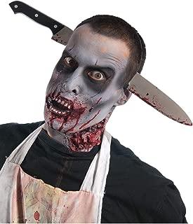 Rubie's Costume Zombie Shop Kitchen Knife-Thru-Head