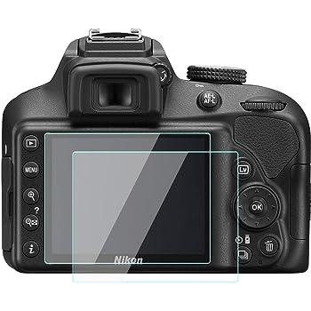 KOMET Nikon D3500 D3400 D3300 D3200 LCD Protector de Pantalla ...