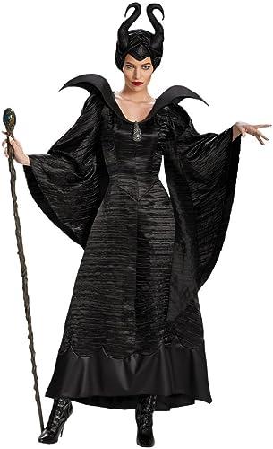 gran descuento Shoperama mujer Disfraz de Maleficent negro Malvado Hada Hada Hada stief Tuerca Reina  bajo precio