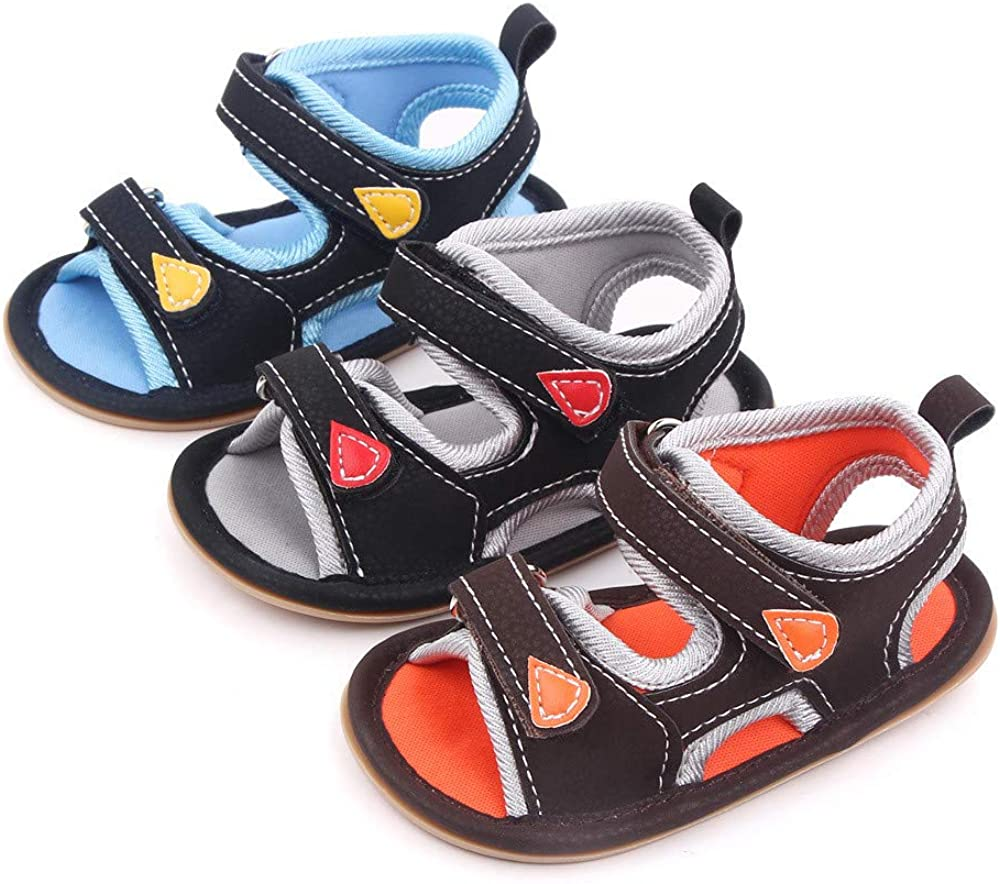 Bellocasa Infant Baby Boys Girls Beach Sandals PU Large-scale sale Summer Seattle Mall Leather