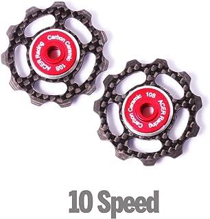 featured product Carbon Fiber Jockey Wheels with Ceramic Bearings