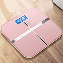 NYDZDM Electronic Scale Electronic Weight Scale Accurate Home Health Weighing Body Instrument Adult Weight Loss Scale Small Female Weighing Meter USB Charging (Color : Pink)